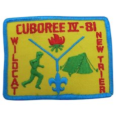 BSA Cuboree IV Patch Boy scouts of America