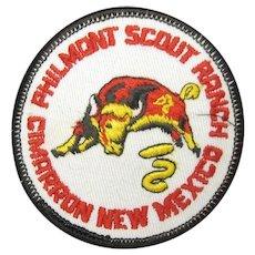 Boy Scouts of america Philmont ranch NM Steer