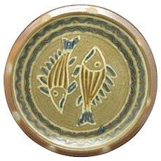 Pisces Plate Matt Jones Pottery Hand made Ceramics