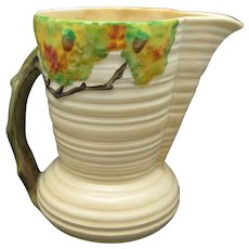 Acorn Jug Carlton Ware English pottery Oak tree