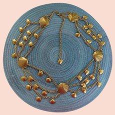 Seashell Belt gold tone metal chains High quality
