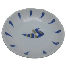 Air France Concorde Bernarduad Limoges small dish