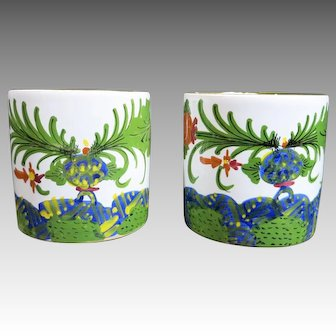 Beautiful Handpainted MUGS Italian made