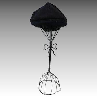 Kangol Hat Navy Blue Wool VINTAGE CAP