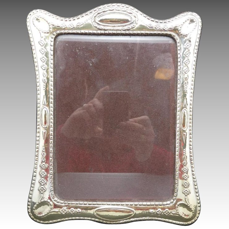 Sterling SILVER FRame Italian Repousse Design : Unsigned Beauty ...