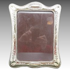 Sterling SILVER FRame Italian Repousse Design