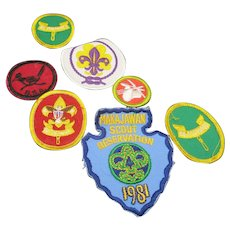 Boy Scout Patches Collection of cloth Patches