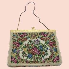 Petit Pointe Purse Floral Design Evening Bag