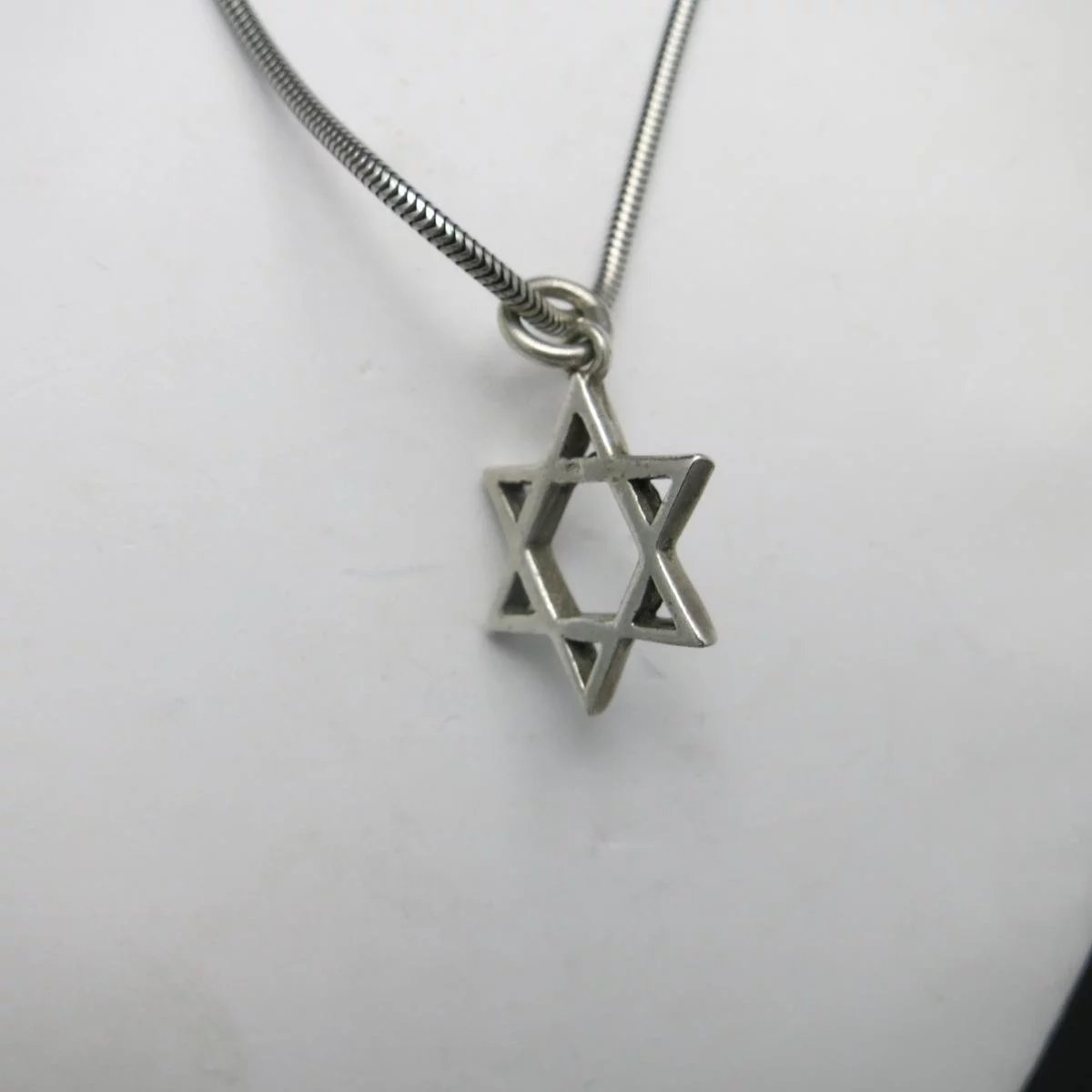 israel stainless necklace color gold hot of david plated cross star necklaces pendant chain women steel in men jewelry jewish magen from item