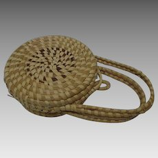 Vintage Sweetgrass Child's Purse, South Carolina