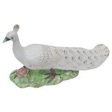 Norcrest, Japan, Porcelain Peacock