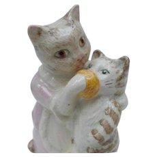 Beswick Vintage Figurine, Beatrix Potter Tabitha Twitchit and Miss Moppet