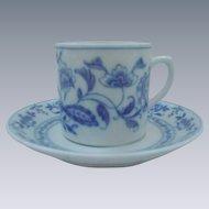 Vista Allegra, Portugal, Demitasse Cup and Saucer, Asian Pattern