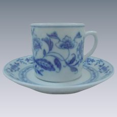 Vista Allegra, Portugal, Demitasse Cup and Saucer, Asian Pattern