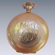 Elgin's Women's Pocket Watch, Keystone Case, 7 Jewel