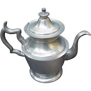 Woodbury Pewter Teapot, Henry Ford Museum Reproduction