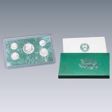 U.S. Mint Proof Set, 5 Coins Dated 1994