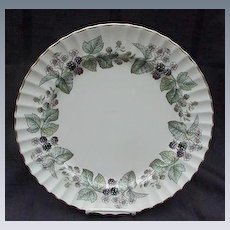 Royal Worcester Fine Bone China Dinner Plate, Lavinia