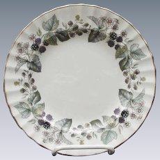 Royal Worcester Lavinia Salad/Dessert Plate, Fine Bone China, England