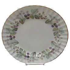 Lavinia Bread and Butter Plate, Royal Worcester Fine Bone China, England