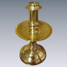Miniature Virginia Metalcrafters Brass Candlestick