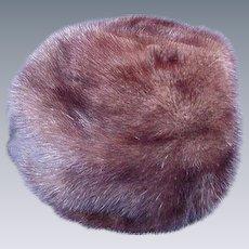Gorgeous Dark Brown Ranch Mink Hat