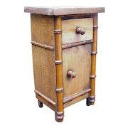 Miniature Chest with Cabinet Below, Drawer Above