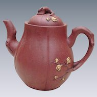 Chinese Red Ware Teapot