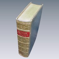 Cowper's Poetical Works, Leather Bound, 1862