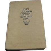 3rd Edition, 1930, Stephen Vincent Benet, John Brown's Body, Doubleday Doran