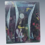 Paul Klee, 1969 Book, Text by Will Grohmann, Abrams Publishers