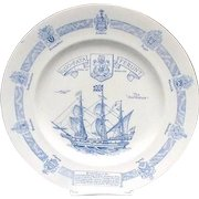 Shelley English Bone China Bermuda Founders' Plate