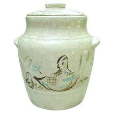 Vintage Red Wing Bob White Cookie Jar