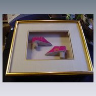 Pair of Lotus Shoes for Chinese Woman w Bound Feet