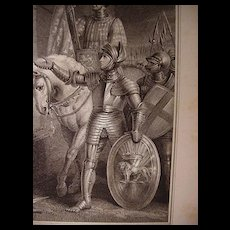 18th C. Engraving from Shakespeare's Play King Henry V