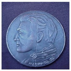 The Broken Coin Film Token of King Michael  II from Early Silent Movie