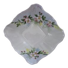 ROYAL ALBERT PIN DISH c1920's signed VanDermade, Regina
