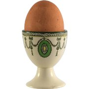 ROYAL DOULTON Countess egg cup D2802 D6316 green