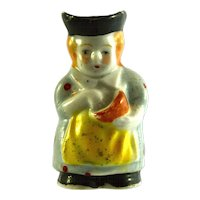 "JAPAN MIOJ Cook Toby Jug 2"" miniature figurine"