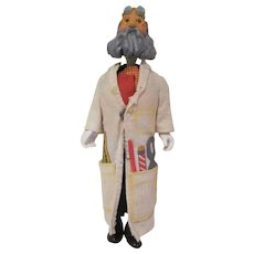 Vintage Remco Action Figure Professor from McDonaldland Playset
