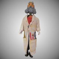 Vintage Remco Action Figure Professor from McDonaldland Playset
