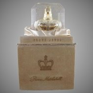 Prince Matchabelli Crown Jewel Perfume Bottle with Original Box and Lucite Insert