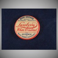 Berry Bros. 'Luxeberry White Enamel' Pocket Mirror