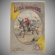 'Little Learners ABC' Linen Book Early