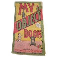 'My Object Book' Muslin Book by Saalfield