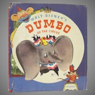 Walt Disney's Dumbo of the Circus Hard Back Book 1941