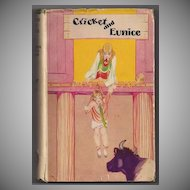 'Cricket and Eunice' Hard Back Book