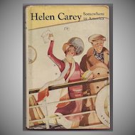 'Helen Carey  Somewhere in America' Hard Back Book