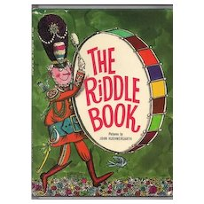 'The Riddle Book' Hard Back Book with Dust Cover