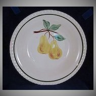 Blue Ridge Southern Pottery 'Twin Pear' Large Vegetable Bowl